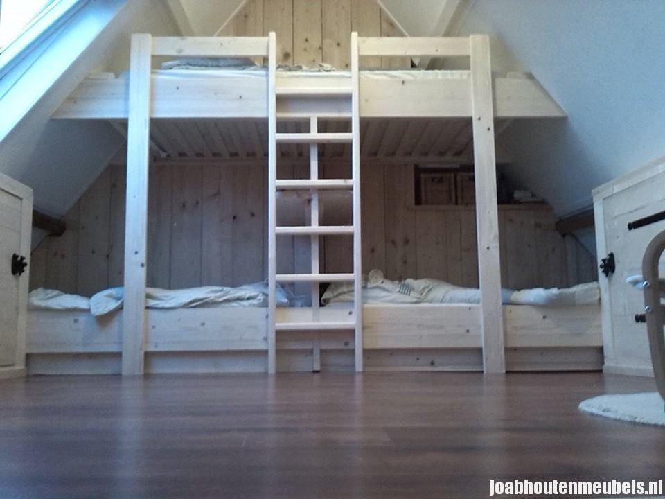 Houten Slaapkamer Meubels : Inbouw slaapkamers en zolders joab houten meubels