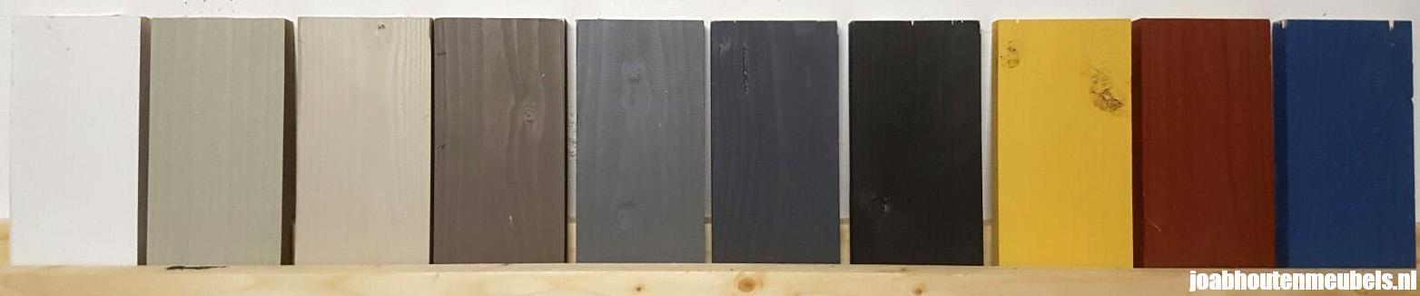 Geliefde Beits van vurenhout en steigerhout voor bescherming en kleur KO17