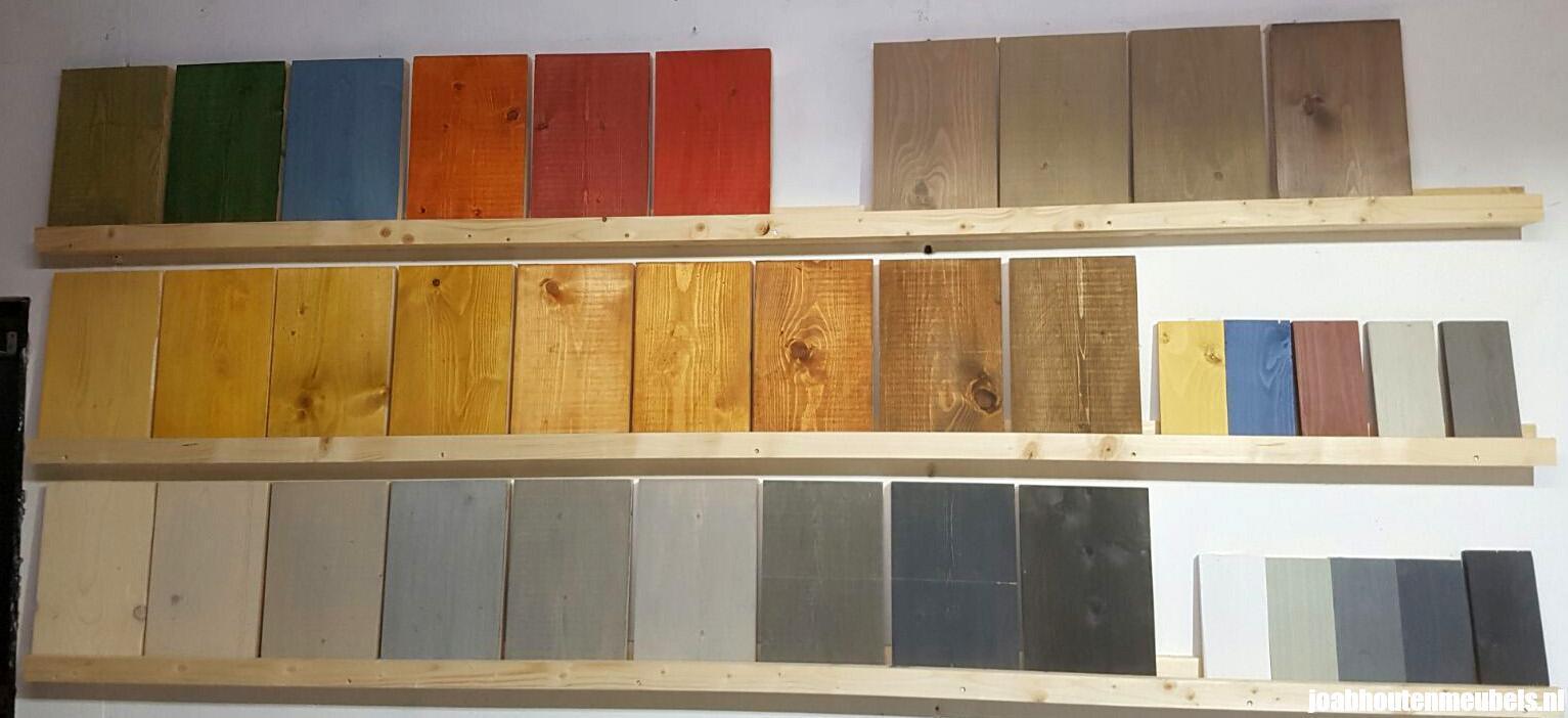 Bekend Beits van vurenhout en steigerhout voor bescherming en kleur GJ44